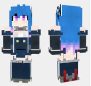 ヘレナ アズールレーン Minecraft Skin
