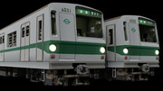 【MMD鉄道】営団地下鉄6000系5次車登場時仕様 (改造品)