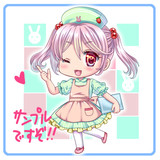 ナース漣・新刊オマケシール