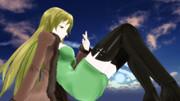 六導玲霞の儚げな空でセクシーポーズ33【Fate/MMD】