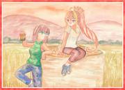 【セイカ&ギャラ子】農場王に私はなる!【FarmingSimulator19】支援絵