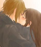 キスで律澪