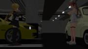 地下駐車場にいる、皐月とLibeccioは…