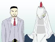 リーグ委員長と化したドラゴン田中