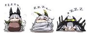 寝るセイレーン