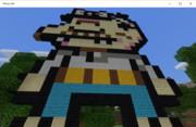 Minecraftで天才バカボン作ってみた。
