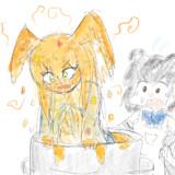 カレーの鍋に落ちたカモメ
