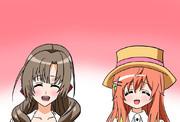 お母さんとお姉さんの茅野さんどちらが好きですか。