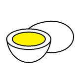 卵とゆで卵