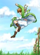 柵なんてひとっ跳び!【オリジナル:Soichiさんとの連続企画】