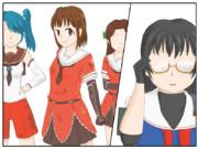小説26巻目の挿絵6枚目