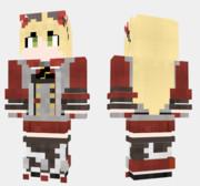 アドミラル・ヒッパー アズールレーン Minecraft Skin