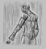雨の中のウォーズマン
