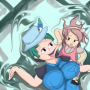 キュルルと謎の少女