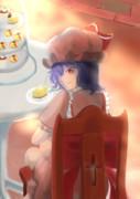 レミリアとお茶したい(願望)
