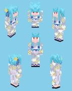 【Minecraft】琴葉葵:浴衣衣装【Alex】