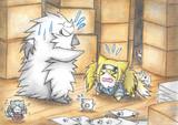 迷子のガンビア猫とグー提督