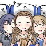 帰りの新幹線で寝るワンステップス