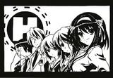 【切り絵】SOS団 参上!!【涼宮ハルヒの憂鬱】