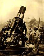 最終防衛線の砲