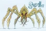 六脚怪獣スキュラ