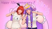 【そばかす式】祝!そばかす魔理沙10周年!むきゅんむきゅん