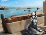 静かな海を護り続ける