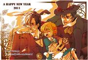 2011年の年賀状【BJ】