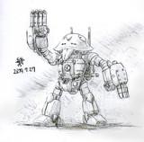 攻撃型MS「ストライクガンダム」