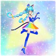 銀河に光る虹色のスペクトル!キュアコスモ!