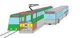 路面高速鉄道(SRT)のイラスト1