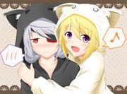 二匹の子猫のラプソディー