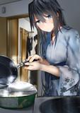 人ん家で勝手にカップ麺を食う雪女