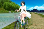 ア「夏休みの目標は自転車に乗れるようになることです」