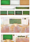 黒板系のフリー素材