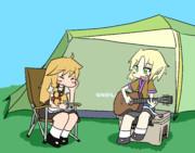 キャンプデートするSZJO