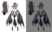 【オリジナル】魔女さん衣装新デザイン