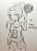 キャプテン誕生日おめでとう!