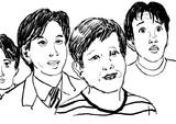 黄金期のニコニコ動画の人気者たちで似顔絵練習
