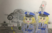 Dwie Major i Su-22