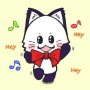 ポジティブ猫ヤミーくん 「ダンス」