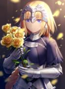 薔薇とジャンヌさん