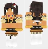 サウスダコタ アズールレーン Minecraft Skin