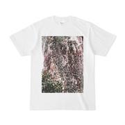 シンプルデザインTシャツ 太い樹