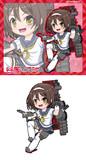 陽炎型駆逐艦14番艦 谷風・丁改