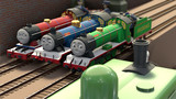 小さな機関車たち