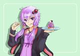 紫芋ゆかりんモンブラン 〜ささやかさを添えて〜
