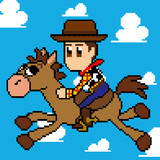 pixel Woody&Bullseye