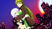 抱き合う黒殺親子・ハグの日!【Fate/MMD】