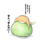 カエルちゃんとツチノコちゃん